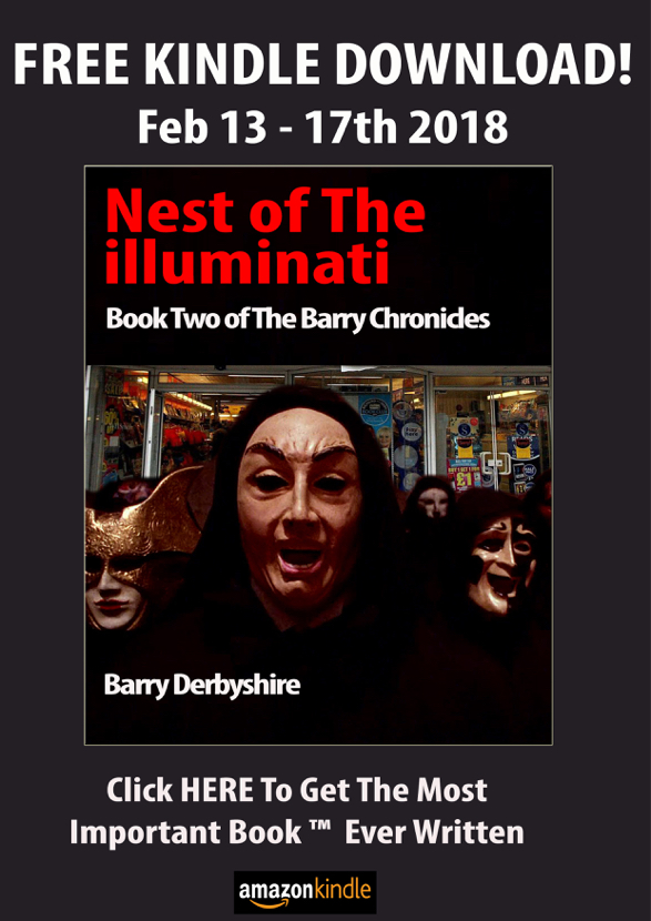 Download Book Two of 'The Barry Chronicles' For FREE from Amazon Kindle Store